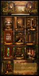 Romantic Dream backgrounds by moonchild-ljilja