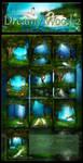 Dreamy Wood 2 backgrounds by moonchild-ljilja