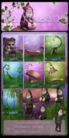 Fairyland backgrounds by moonchild-ljilja