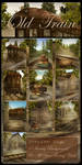 Old Train backgrounds by moonchild-ljilja