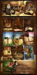 Fairy Books backgrounds by moonchild-ljilja