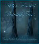 Fairy Trees Tutorial by moonchild-ljilja