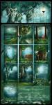 Fairy Glow backgrounds by moonchild-ljilja