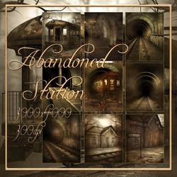Abandoned Station backgrounds by moonchild-ljilja