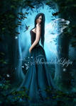 Forest Fairy by moonchild-ljilja