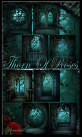 Thorn Of Roses 2 backgrounds by moonchild-ljilja