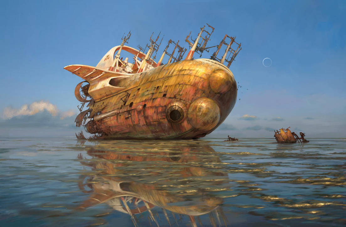 Low Tide Ghost by m0zch0ps