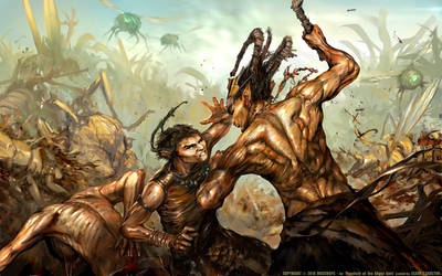 Anand vs Keel (Prophets of the Ghost Ants) by m0zch0ps