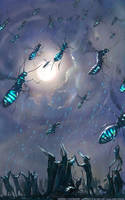 Flying The Ant Kites (Prophets of the Ghost Ants) by m0zch0ps