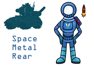 FA: Space Metal Rear by KingCourier