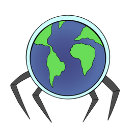 Spider Earth by KingCourier