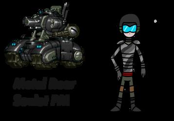 R: Metal Rear soviet PM by KingCourier