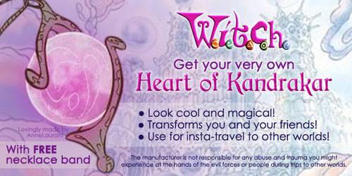 [WITCH] Selling: Heart of Kandrakar! by OrangeCrazyRandom