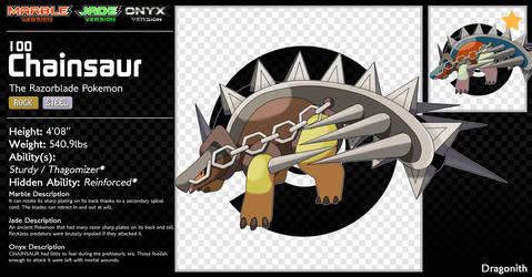 100-Chainsaur by Dragonith