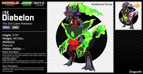 152-Diabelon (Awakened Forme) by Dragonith