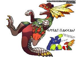 Kickboxing Kanga-Raptor by Dragonith
