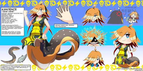 Kandence (OC) Character Sheet by Dragonith