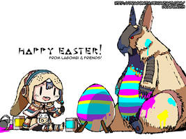 Easter Lagombi by Dragonith