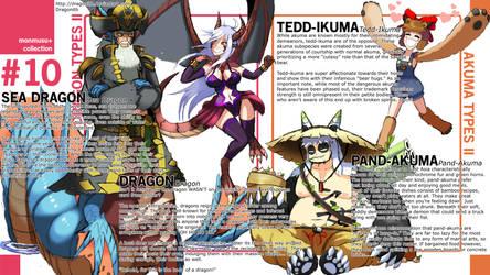 Monster Musume+: Dragon and Akuma Species II by Dragonith