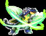 Armaldo -X-Scissor- by Dragonith