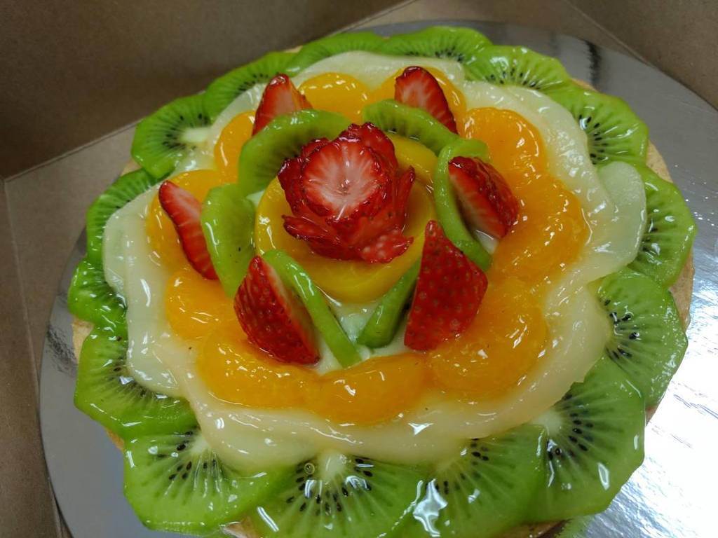 Large Fruit Tart by PurpleLotusFlower23