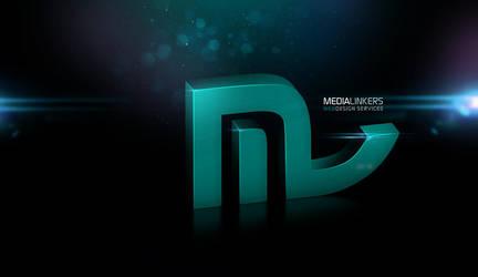 MediaLinkers Logo Wallpaper by muddassir
