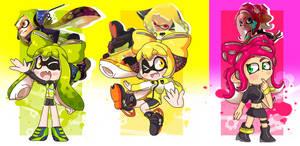 Splatoon Agents!!! by Jazzzeh51