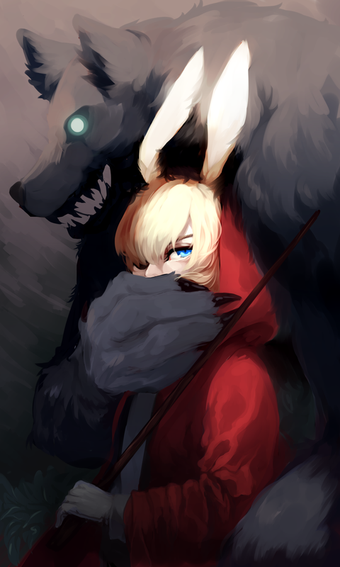 Wolf n Keeper by shihoran
