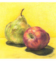 Pear and Apple by Adolin-of-Light