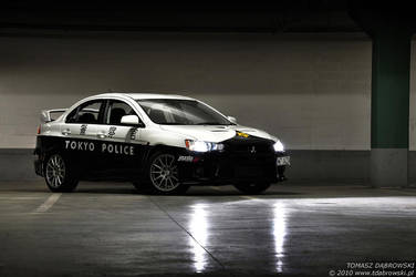 Tokyo Police Evo X - 1 by Dhante