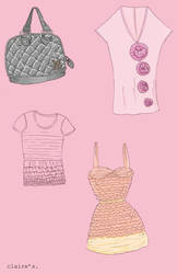 Some clothes by clariitaa