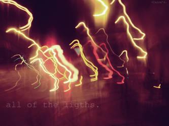 Night lights. by clariitaa