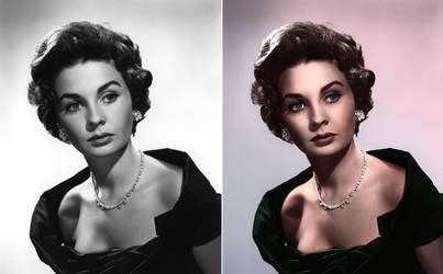 Jean Simmons - Colours by sojourney