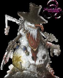 Evil Snowman by Vionas