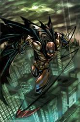 dark knight colored by nefar007
