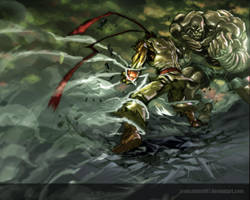SF battle royale by nefar007