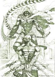 the prince and kratos by nefar007