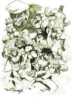 street fighters by nefar007