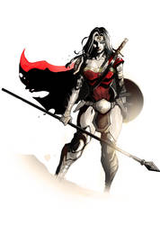 Wonder Woman JLB 2.0 by nefar007