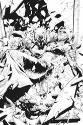 Red Hood and the Outlaws #1 by nefar007