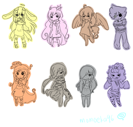 PC Chibi Batch 3 by Momoeko