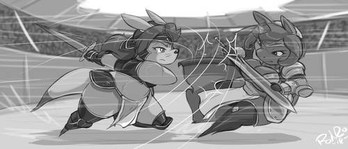 friendly competition by credechica4