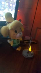 Firekeeper Isabelle by credechica4