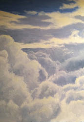 Above the clouds - work in progress by persicking