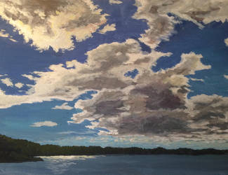 Cloud study I by persicking