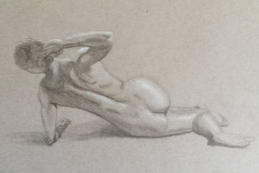 Reclining female by persicking
