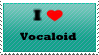 I love Vocaloid (Music and characters) - stamp by lucianintendofan97