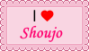 I love Shoujo (Manga and Anime) - Stamp by lucianintendofan97