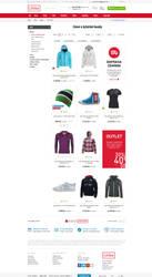Clothing shop Looke.cz by romankac