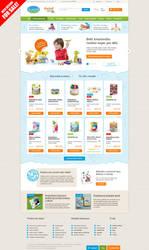 E-commerce web design FOR SALE by romankac
